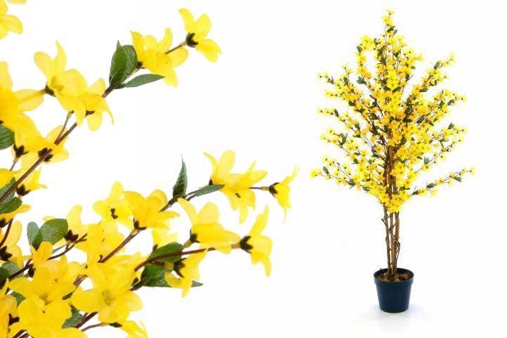 Umelá kvetina - Forsythia 130 cm