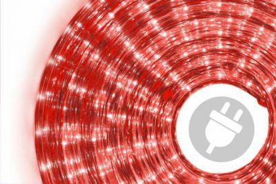 Svetelný kábel 20 m - červená, 720 minižiaroviek