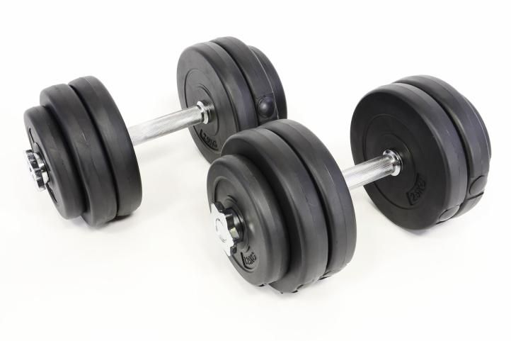 Profi jednoručné činky 2 x 15 kg