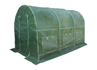 Fóliovník Gardenay transparentná zelená 190 x 200 x 450 cm