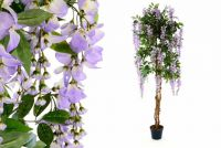 Umelá kvetina - Vistéria, fialová 180 cm