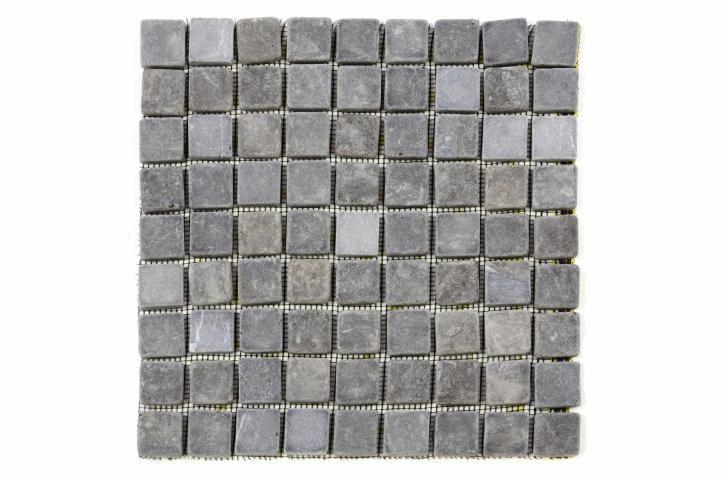 Mramorová mozaika Garth sivá – obklady 1 m2