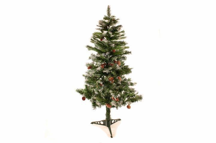Umelý vianočný stromček so šiškami