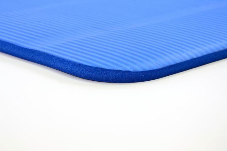 Podložka na jógu, 190 x 60 x 1,5 cm - modrá