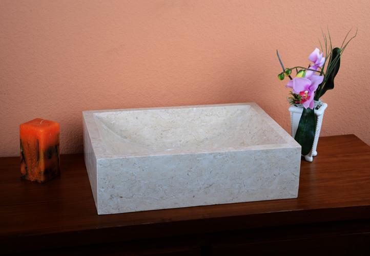 Umývadlo z prírodného kameňa Filiano