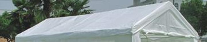 Náhradná strecha na party k stanu 4 x 6 m, biela