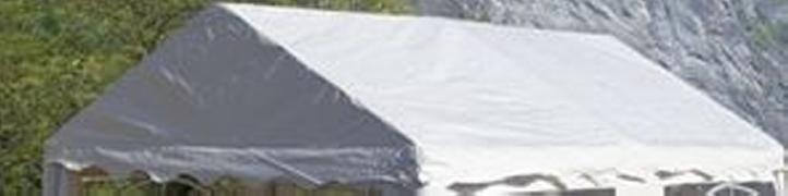 Náhradná strecha k párty stanu 3 x 4 m , biela