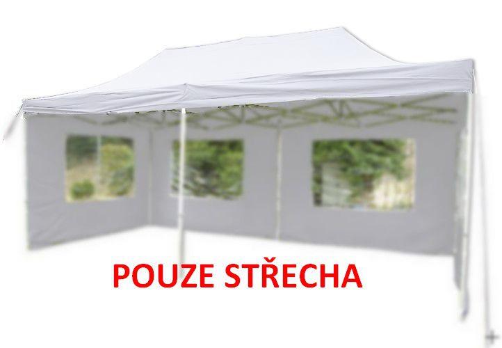 Náhradná strecha k párty stanu 3 x 6 m, biela