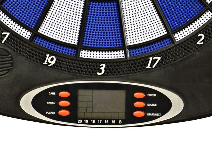 Elektronický terč na šípky BLUE + príslušenstvo