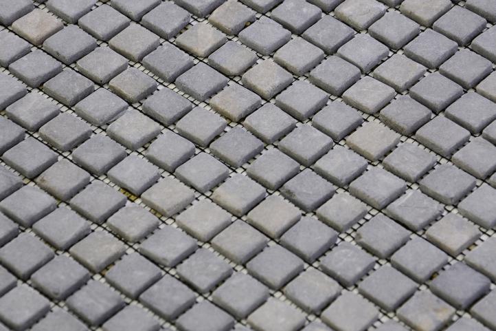 Mramorová mozaika Garth – sivá – obklady 1 ks