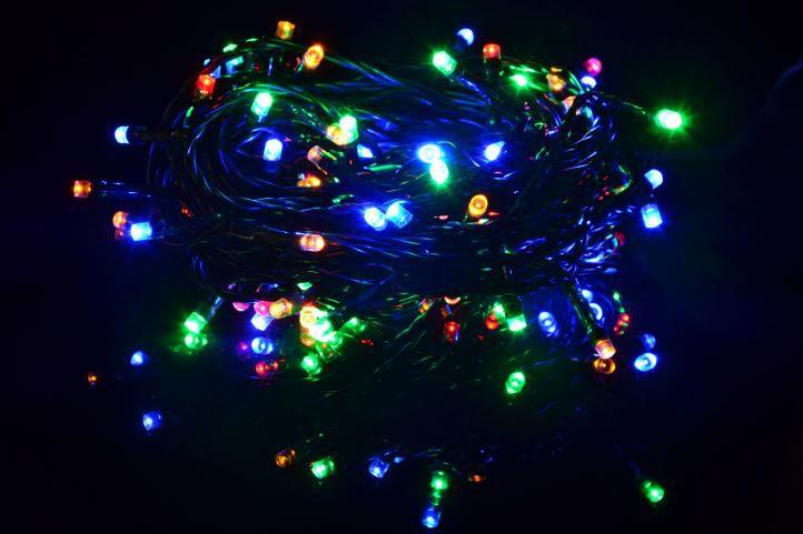 Vianočné LED osvetlenie 40 m - farebné, 400 diód