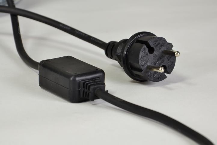 LED svetelný kábel 20 m - ružová, 480 diod