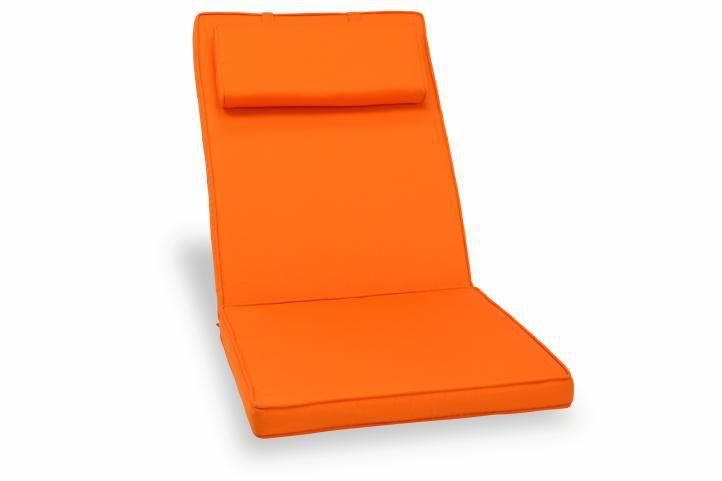 Polstrovanie na stoličku Garth - oranžové