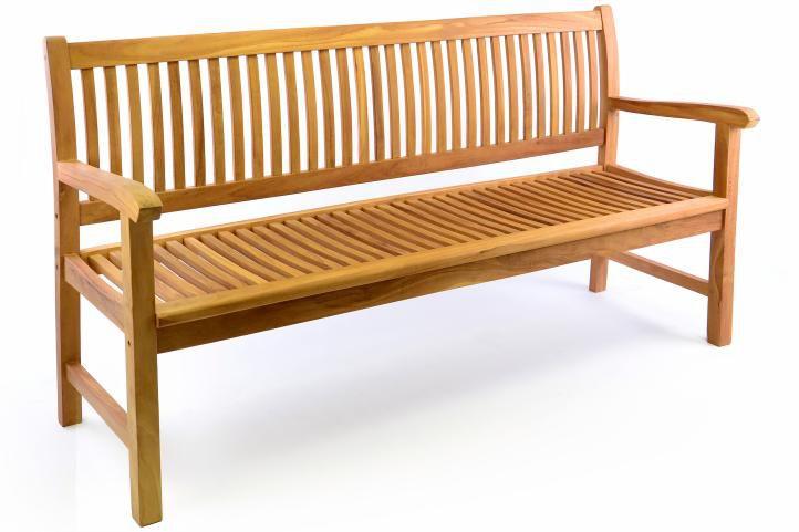 Záhradná lavica DIVERO 3-miestna masív 180 cm