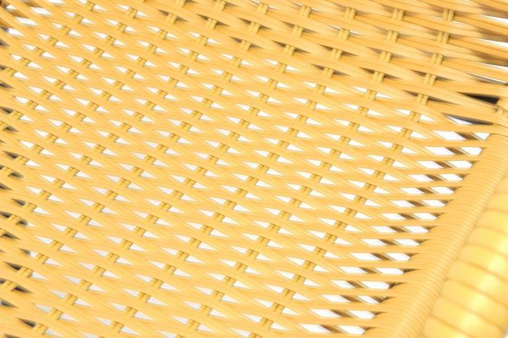 Záhradná bistro stolička – stohovateľná, béžová