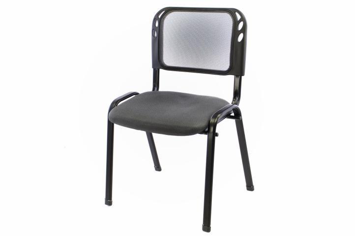Stohovateľná kongresová stolička - sivá