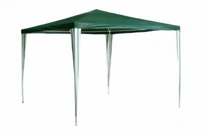 Záhradný párty stan - zelený 3 x 3 m