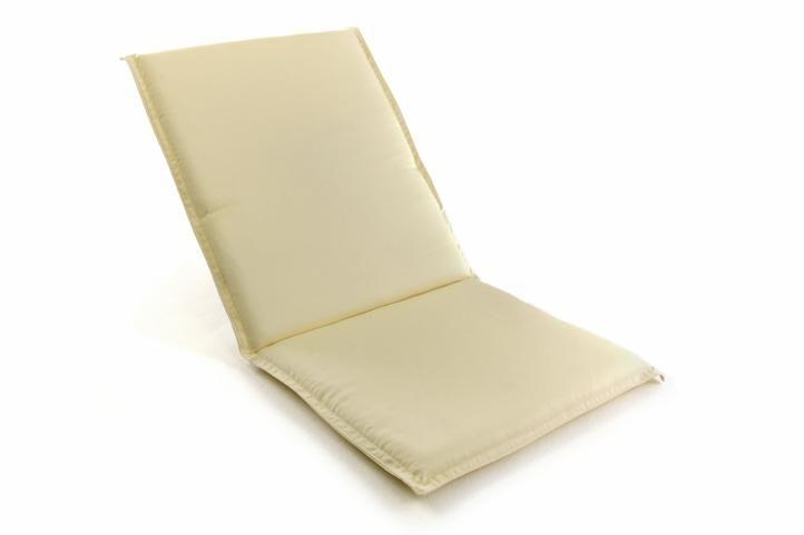 Polstrovanie na skladacie stoličky - krémové