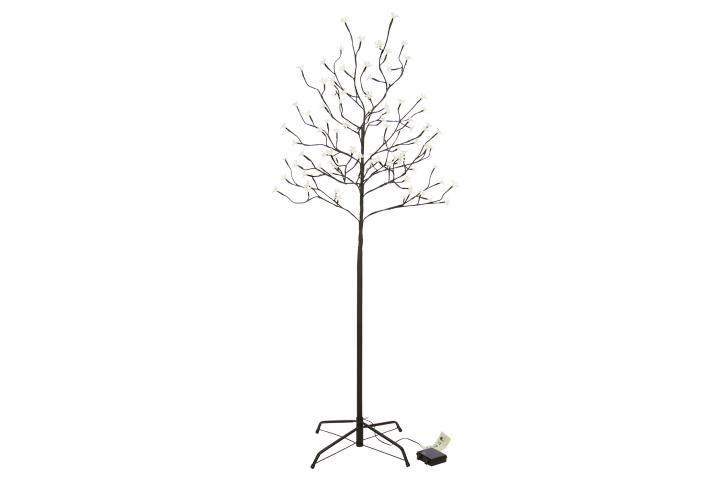 Vianočná dekorácia - svetelný strom, 150 cm, 96 LED