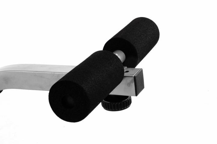 Bench Multifunkčná lavica čierna / strieborná