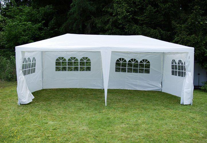 Záhradný párty stan 3 x 6 m, biely