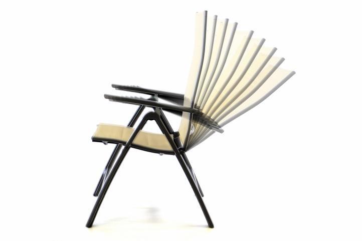 2ed35fb9ea62d Hliníková skladacia stolička pre Vašu záhradu, terasu alebo balkón.