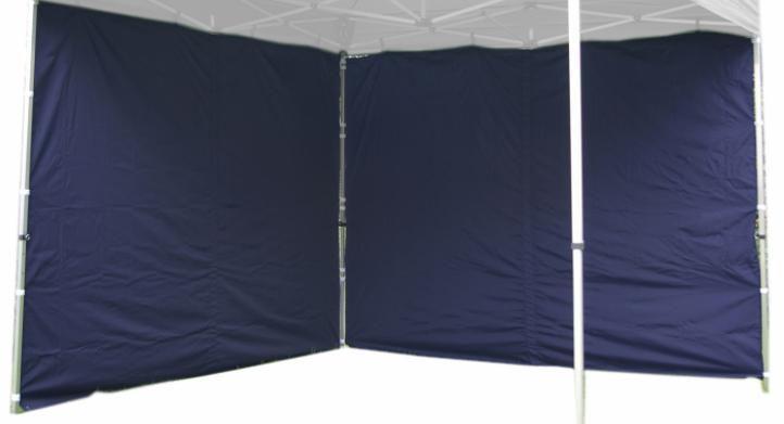 Sada 2 bočných stien pre PROFI záhradný stan 3 x 3 m - modrá