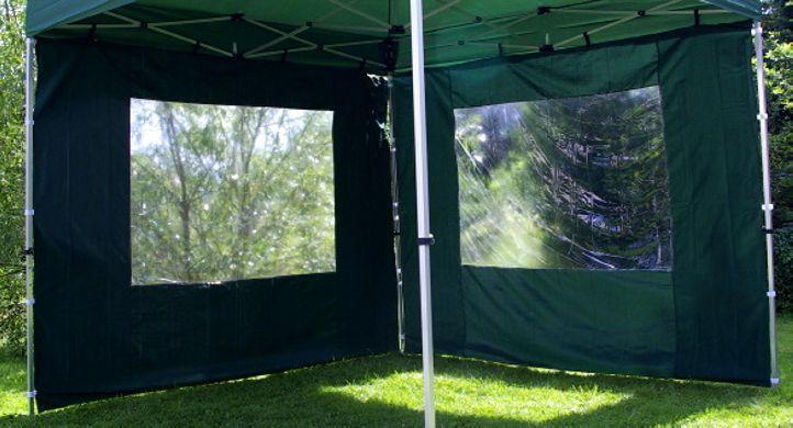 Sada 2 bočných stien pre PROFI záhradný stan 3 x 3 m - zelená