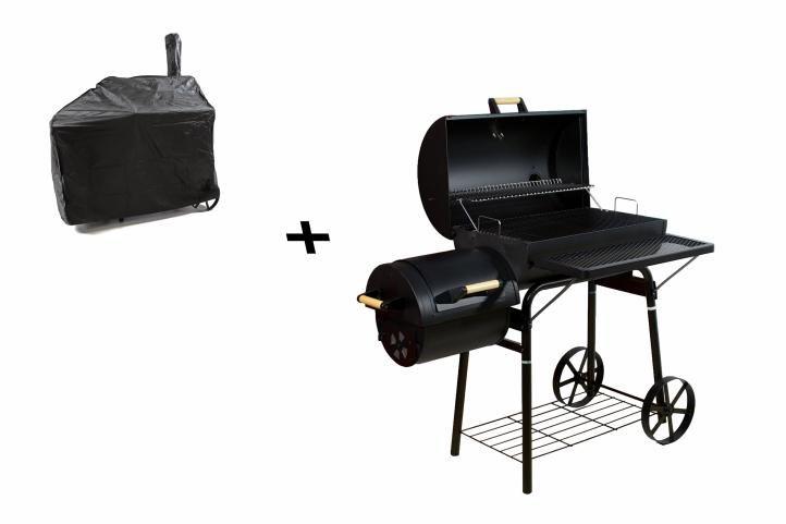BBQ gril Garth na drevené uhlie, extra veľký, 32 kg + obal