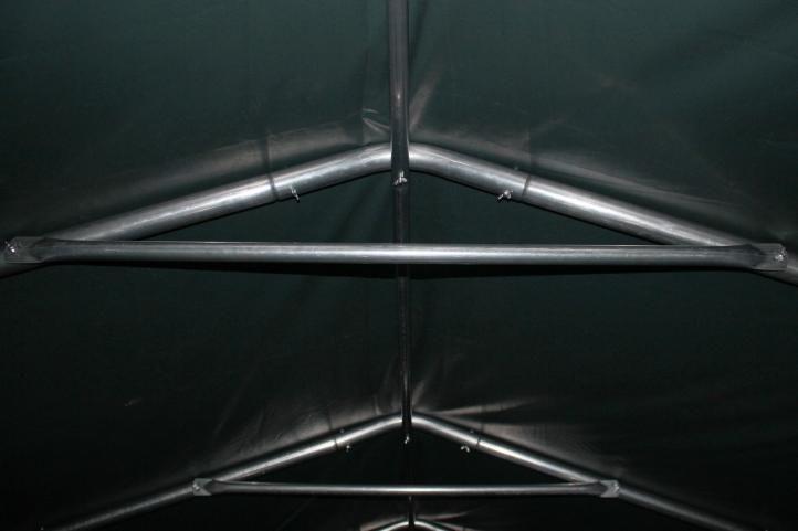 Mobilný prístrešok nielen pre zvieratá - zelený 3,3 x 4,8 m