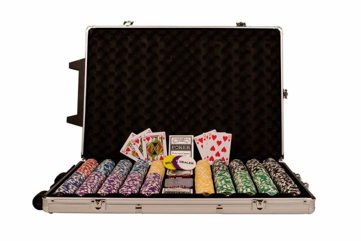 Poker set 1000 ks žetónov OCEAN Trolley CHAMPION CHIP