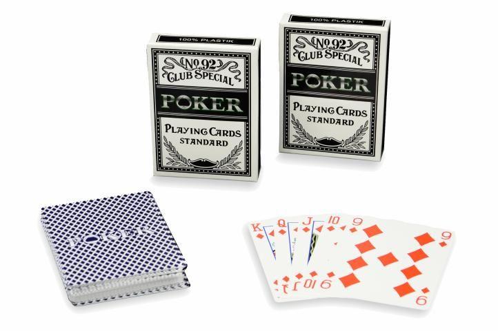 Sada 2 ks poker kariet No92 100 % PLAST