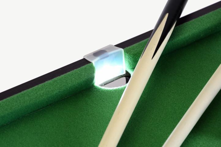 Mini biliard pool s LED osvetlením