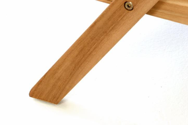 Servírovací vozík DIVERO z teakového dreva