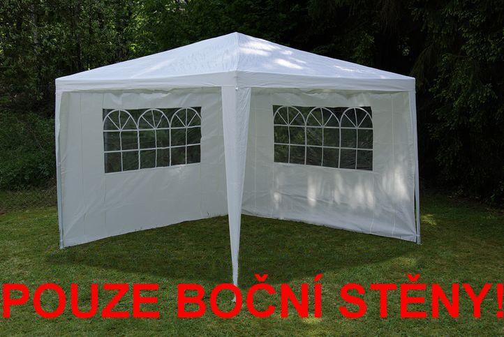 Sada 2 bočných stien pre záhradný stan - biela