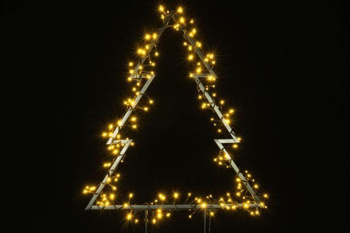 Vianočná LED dekorácia - STROM - 170 LED 75 cm