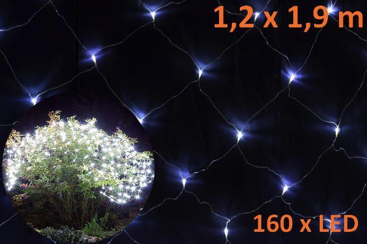 Svetelný záves s LED diódami - 1,2 x 1,9 m