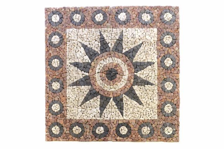 DIVERO - mozaika Kvetina 120 cm x 120 cm