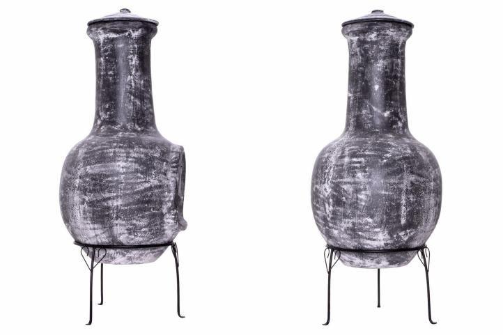 Záhradný terakotový krb Fuerte - 103 cm
