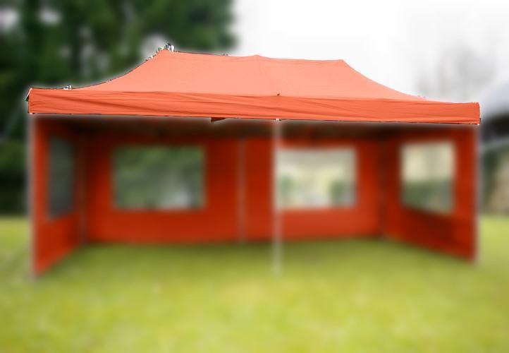 Strecha k záhradnému stanu 3 x 6 m – terakota