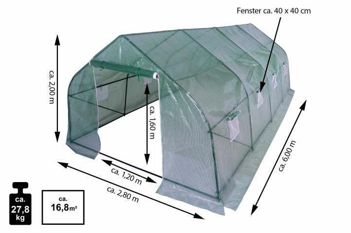 Fóliovník - 600 cm x 280 cm