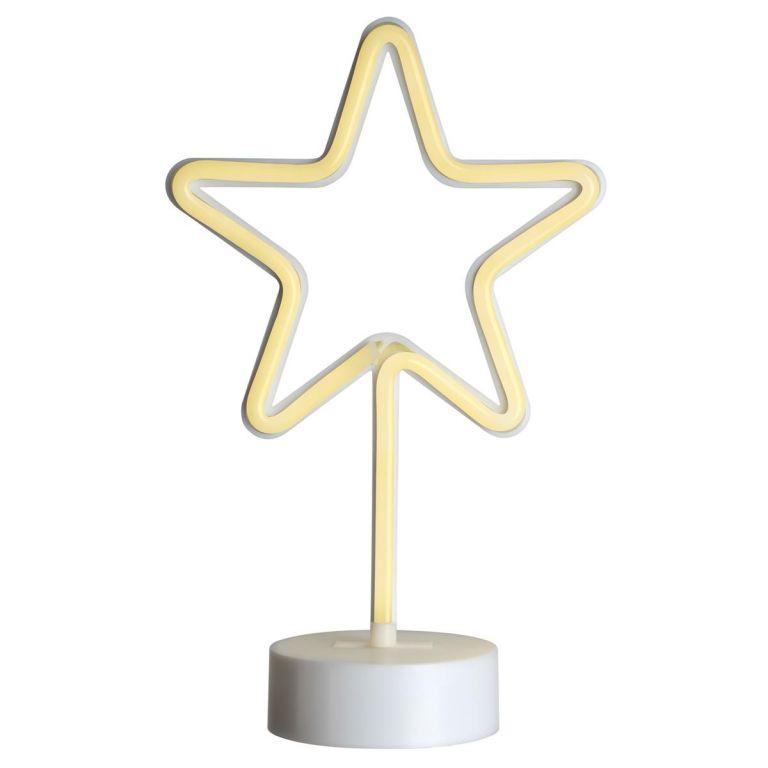 Svietiaca hviezda na stojančeku - 88 LED, 30 cm