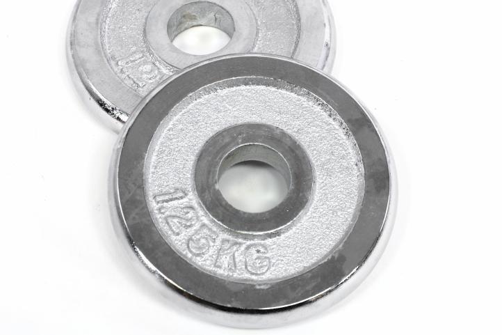 Profi činka jednoručná 15 kg liatina 35,5 cm