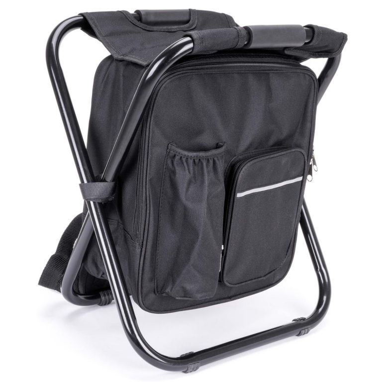 Multifunkčný skladací batoh, čierny