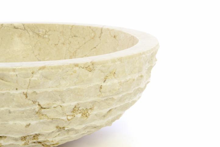 DIVERO umývadlo z prírodného kameňa Sanremo