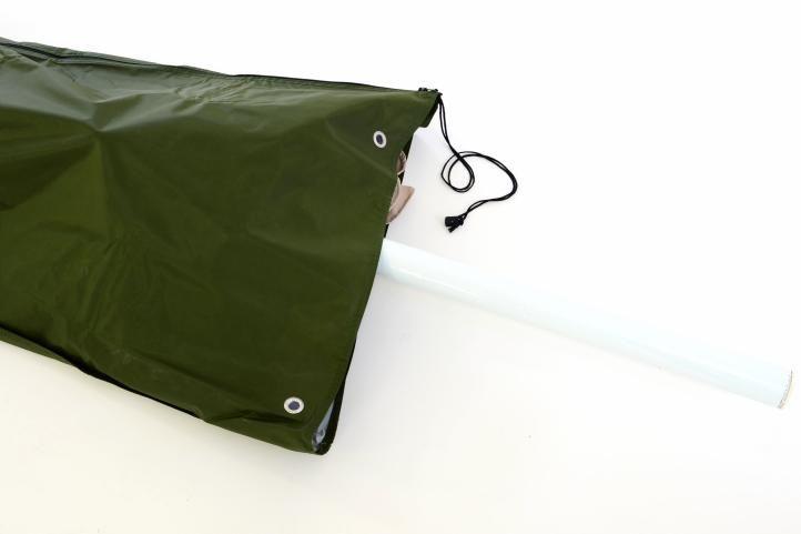 Obal na slnečník s priemerom do 3 m - zelený