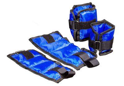 Závažia na nohy a ruky (členky a zápästia) - modrá