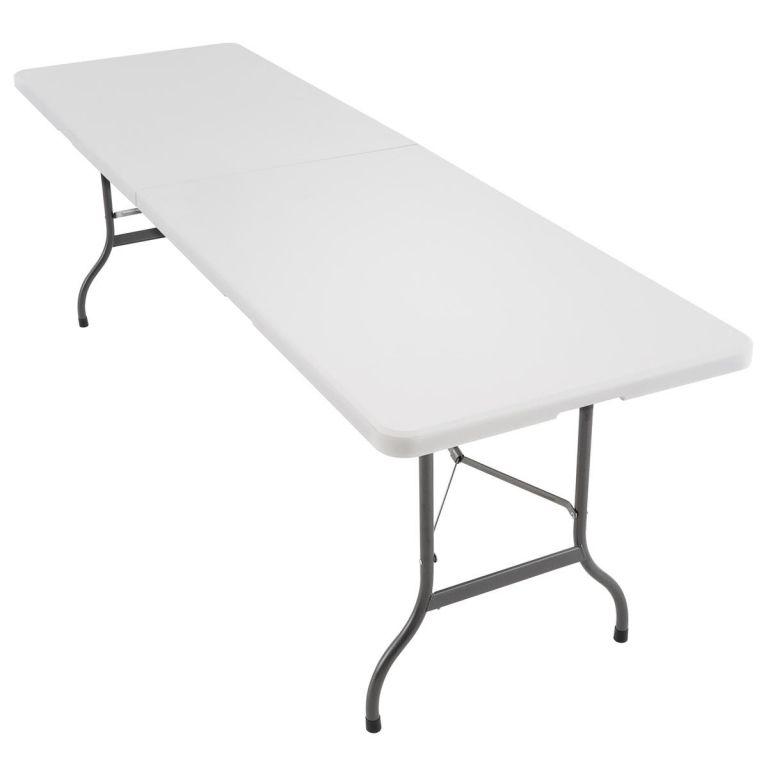Záhradný skladací stôl, 240 cm
