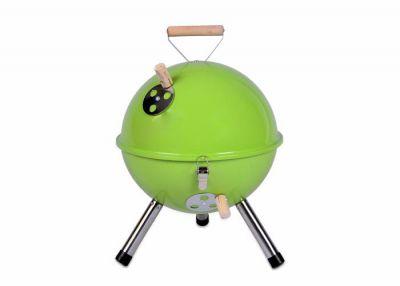 Záhradný vonkajší Mini BBQ gril zelený