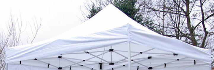 PROFI Náhradná strecha na záhradný skladací stan 3 x 3 m biela